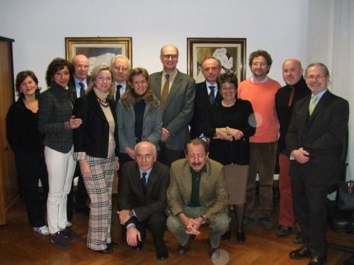 Primi incontri dei soci fondatori