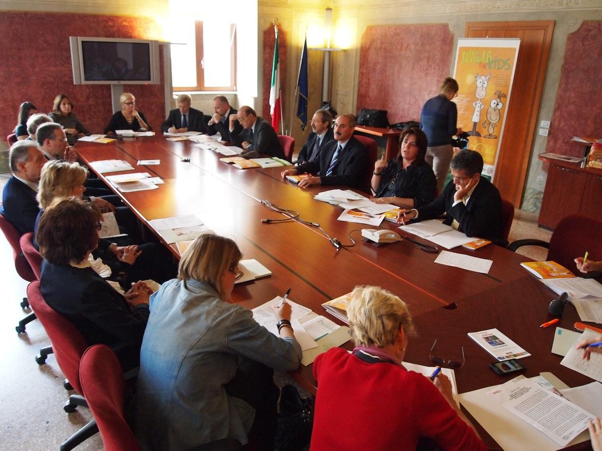 Conferenza stampa di presentazione dei progetti
