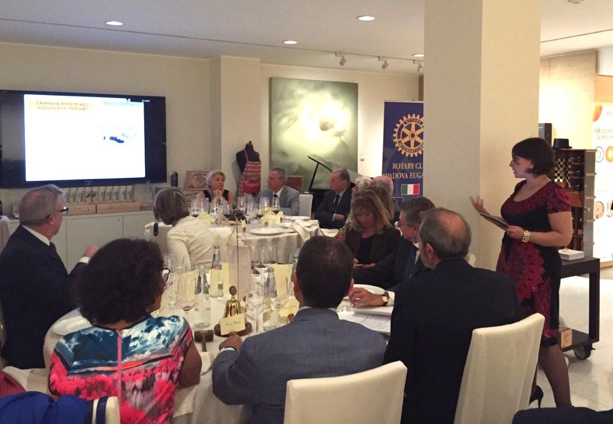 La dott.ssa Romina Spina presenta i numeri del progetto